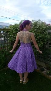 August dress (back)