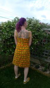 November dress (back)