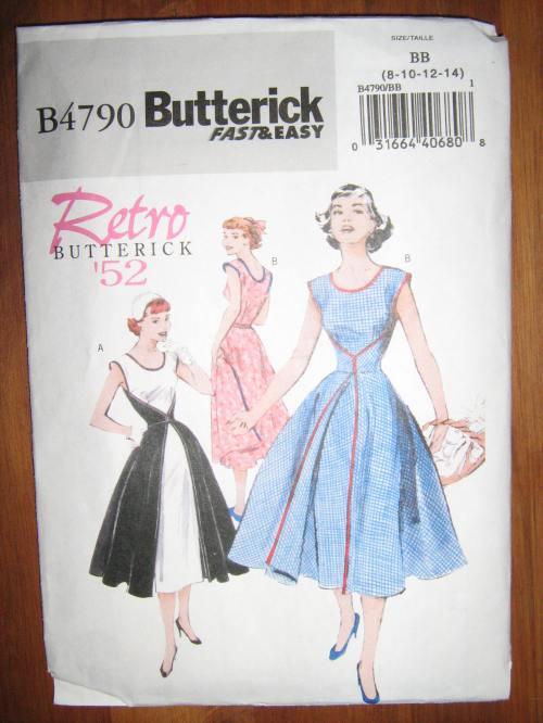 Butterick B4790 pattern