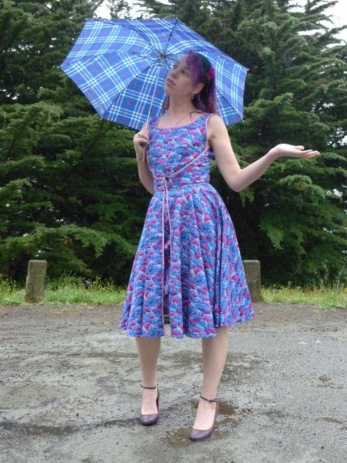 Cartoon Eccentric dress - front