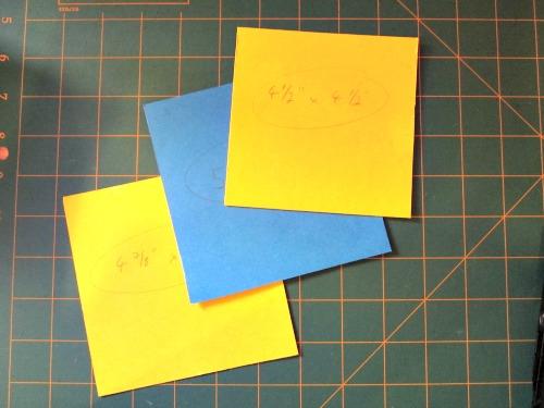 My random brightly coloured templates