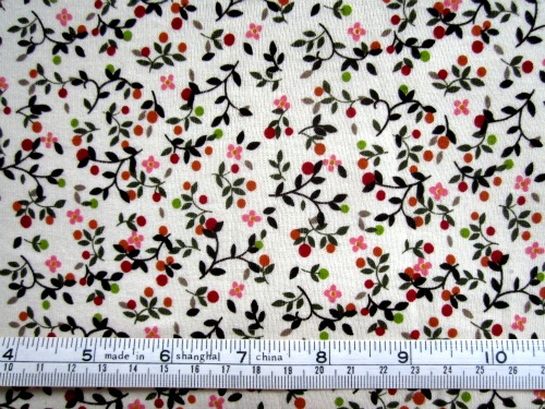 Floral knit