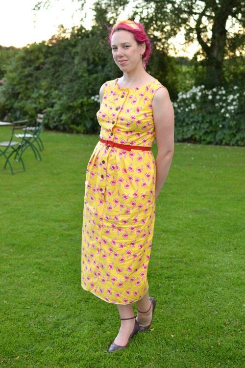 Lovebirds dress | Modern Vintage Cupcakes