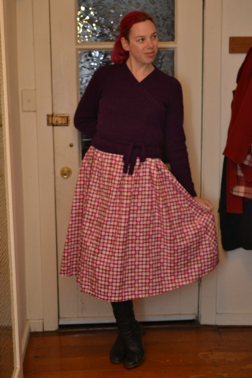 1950s dress, maternity dress