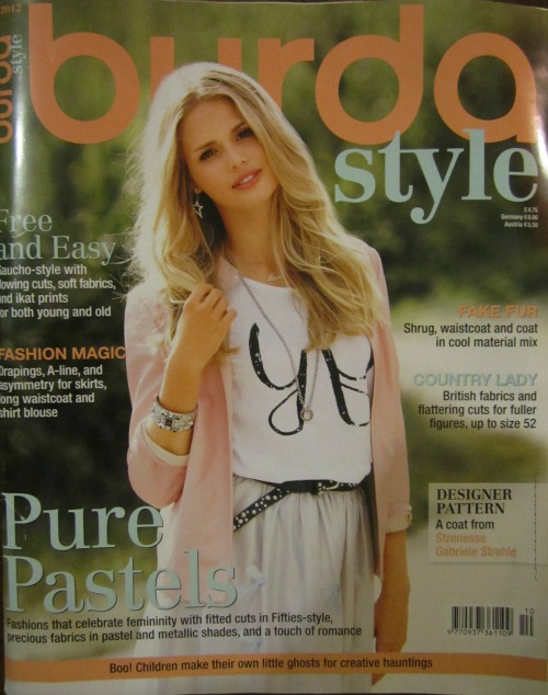Burda Style magazine 10/2012