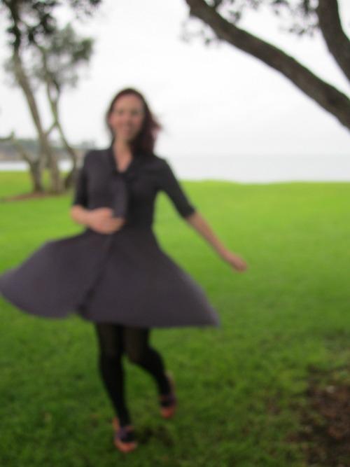 La Sylphide dress twiriling
