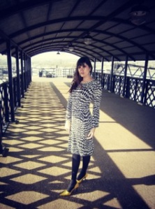 Elisalot polkadot dress