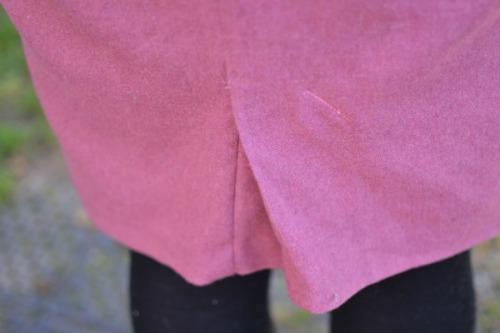 BurdaStyle 01/2013 skirt #124 kickpleat
