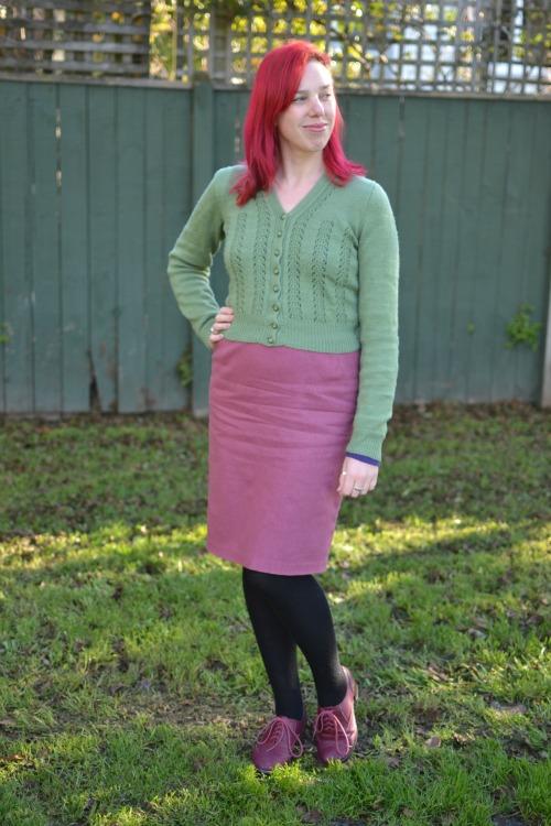 BurdaStyle 01/2013 skirt #124
