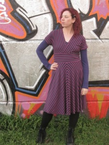 Tiramisu dress from Cake Patterns