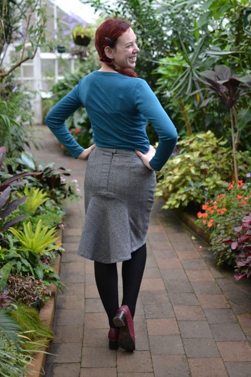 Hummingbird skirt