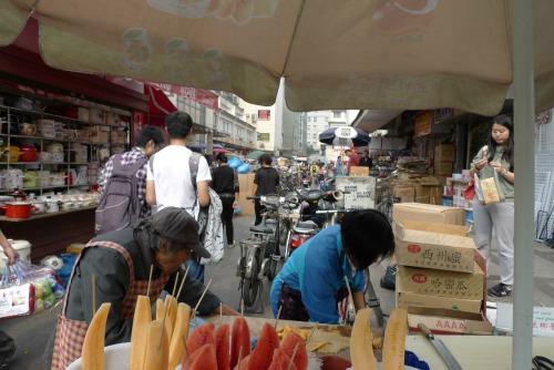 Shanghai street stalls