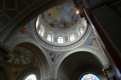 Painted church ceiling, Eger
