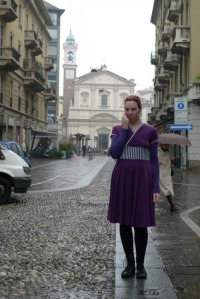 Blackcurrant Tiramisu dress
