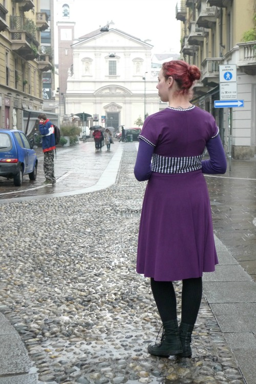 Blackcurrant Tireamisu dress