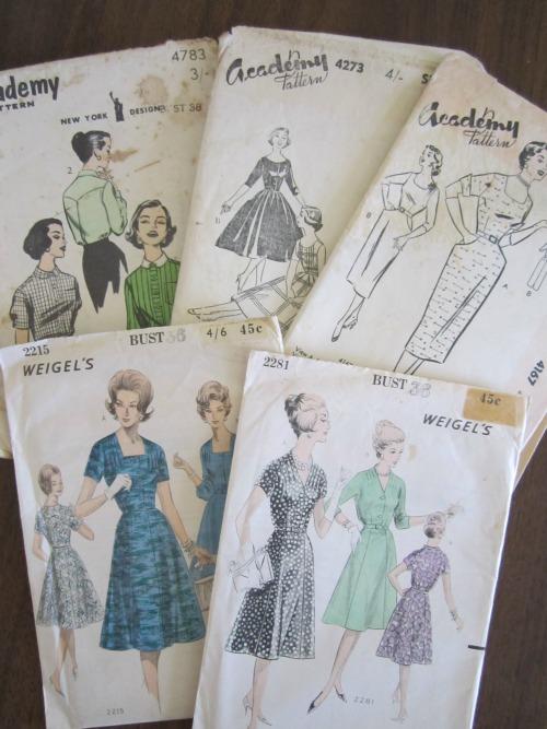 Vintage Patterns | Modern Vintage Cupcakes