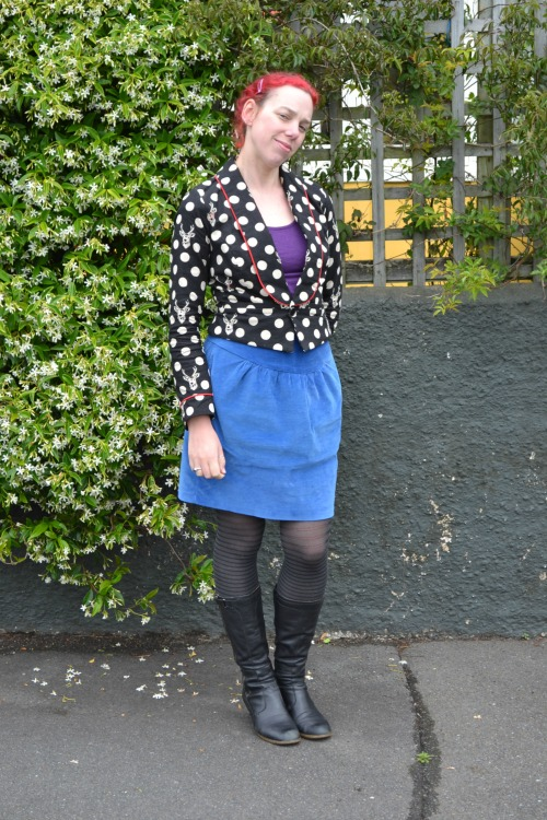 Miss Chalmers skirt   Modern Vintage Cupcakes