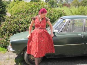 Cherry Ripe dress | Modern Vintage Cupcakes