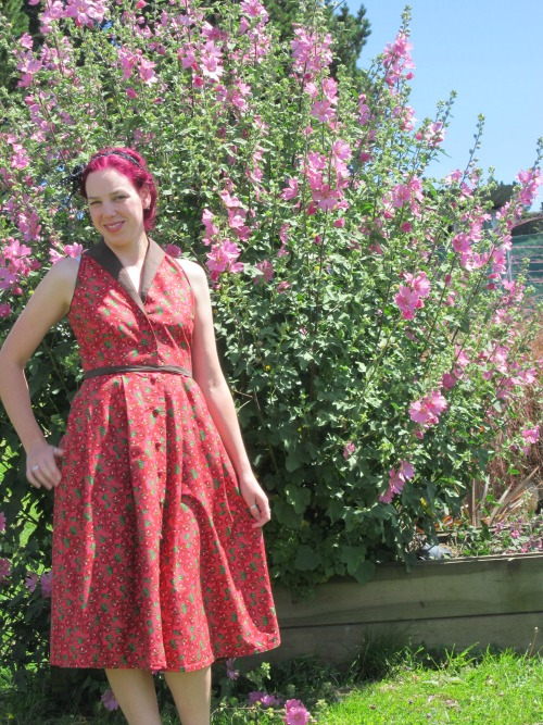 Cherry Ripe dress | Modern Vintage Cupcakes