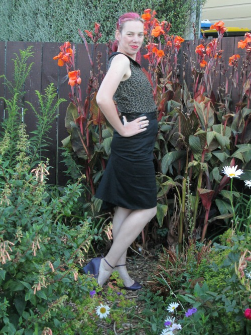 Channeling Dita outfit | Modern Vintage Cupcakes