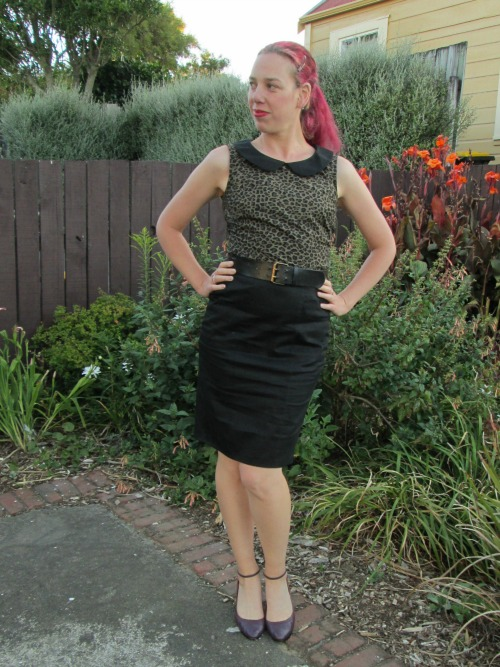 Channeling Dita outfit   Modern Vintage Cupcakes