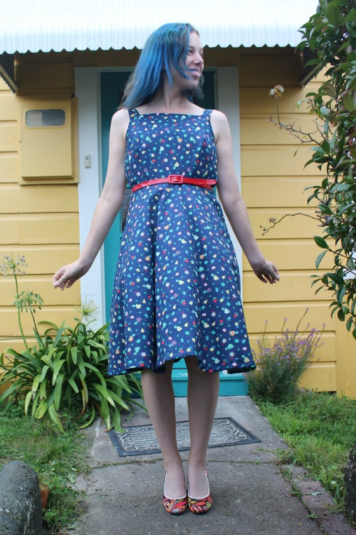 Dolly Turtles dress | Modern Vintage Cupcakes