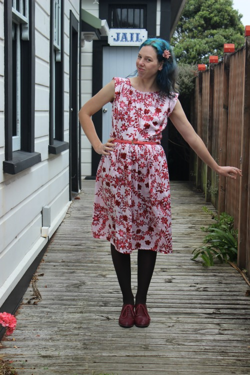 My Sew Bossy creation - the Debi dress