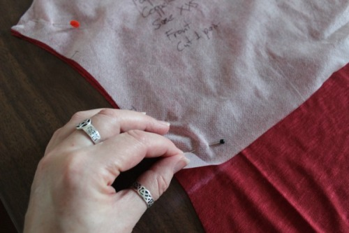 Tutorial: how to lengthen the Papercut Coppelia wrap top  | Modern Vintage Cupcakes