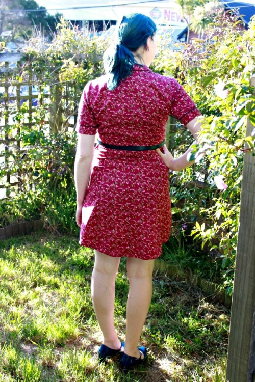 Floral Dakota dress | Modern Vintage Cupcakes