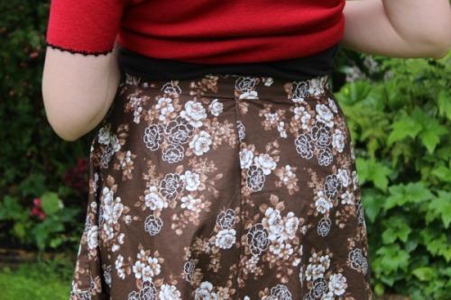 Retro Wrap Skirt | Modern Vintage Cupcakes