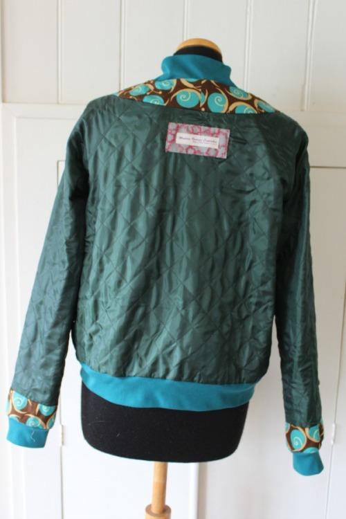 Snails Rigel bomber jacket | Modern Vintage Cupcakes