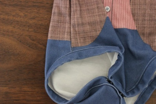 Non-matching side seams :-(