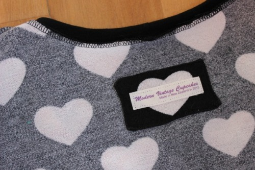 Bird Heart Bonnie jumper | Modern Vintage Cupcakes
