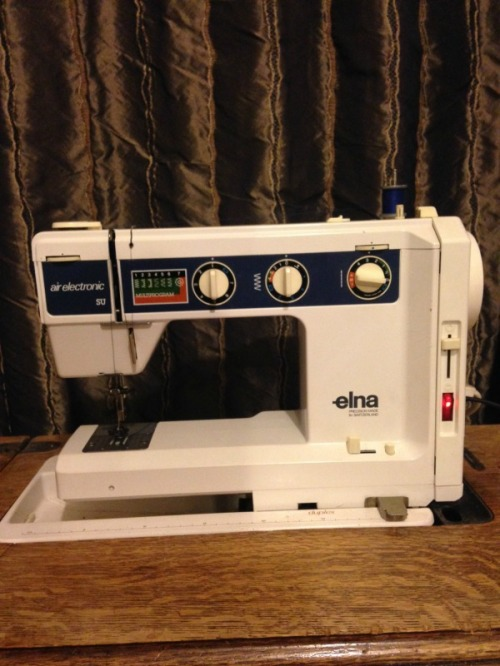 mums sewing machine