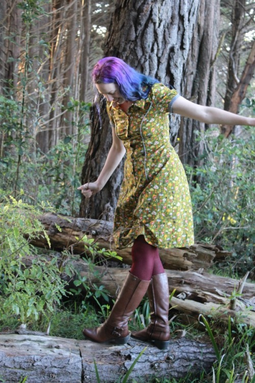 Mushrooms dress (Deer & Doe Bleuet)