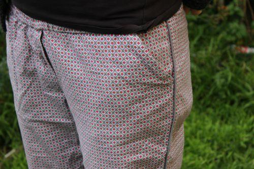 Cozy Diamond PJ pants | Modern Vintage Cupcakes