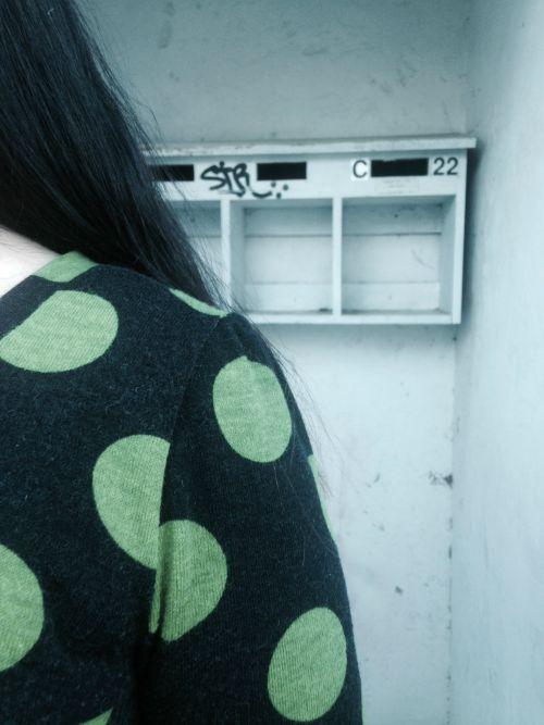 Green Dots Bonnie | Modern Vintage Cupcakes