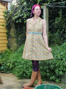 British Kitten dress | Modern Vintage Cupcakes