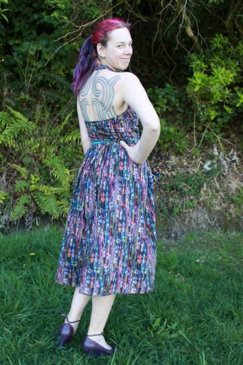 Summer Dreaming dress (vintage 1950's pattern)