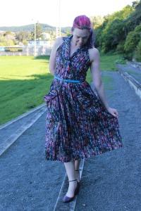 Summer Dreaming halter dress - Modern Vintage Cupcakes