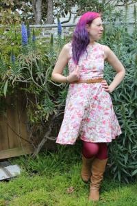 Pinky bar Cressoway dress | Modern Vintage Cupcakes