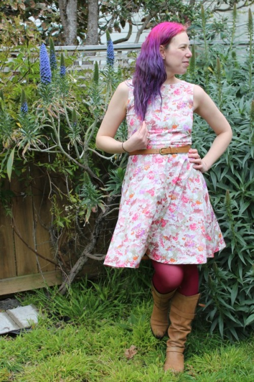 Pinky Bar Cressida dress by Modern Vintage Cupcakes
