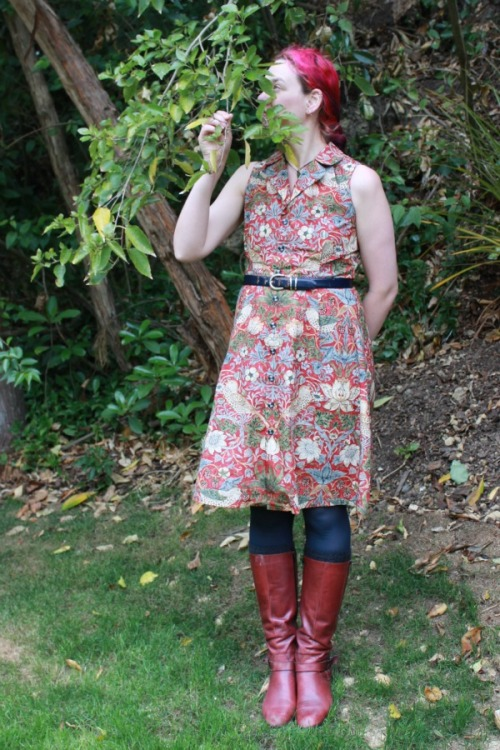 Strawberry Thief dress | Modern Vintage Cupcakes