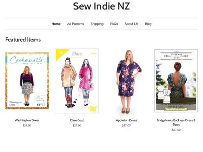 Sew Indie NZ