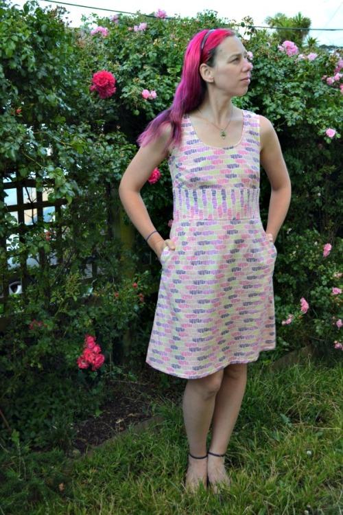 Strawberry Milkshake dress | Modern Vintage Cupcakes