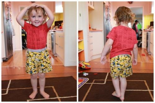 Minions pajama shorts | Modern Vintage Cupcakes