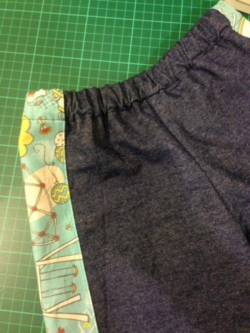 Denim shorts | Modern Vintage Cupcakes