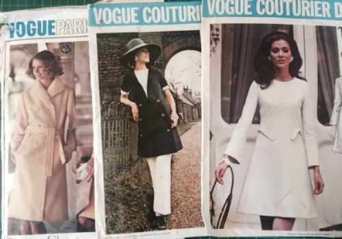 Some of the Vogue Couturier and Designer patterns