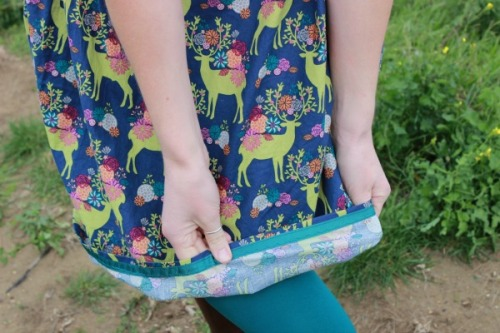 Oh Deer dress | Modern Vintage Cupcakes