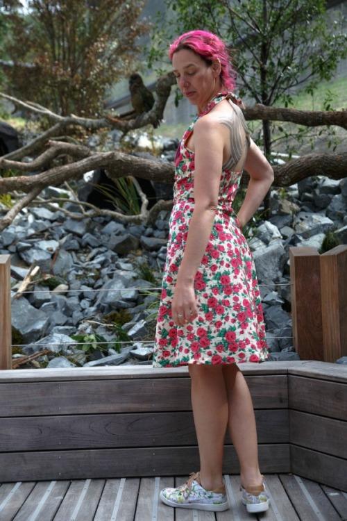 Rose Squared dress | Modern Vintage Cupcakes